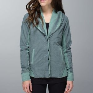 Lululemon To Class Jacket in Deep Earl Gray